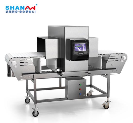 食品车间生产 金属检测仪和X光检测机区别和用途