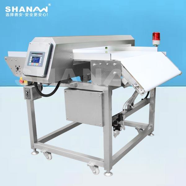SA-1000高精度智能翻板金属检测机