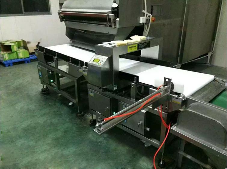 广州家富食品有限公司成功引进我司金属检测机